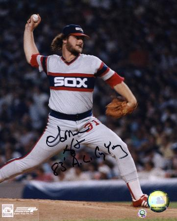 Lamarr Hoyt Chicago White Sox Autographed Photo (Hand Signed Collectable)