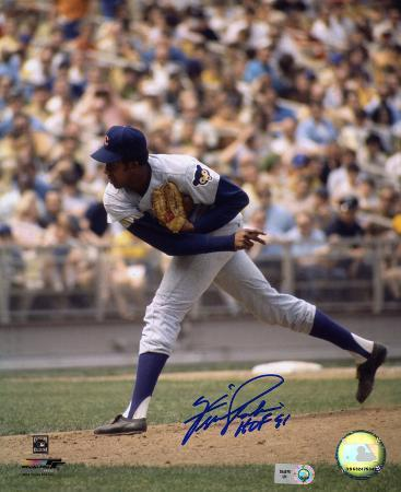 """Fergie Jenkins Chicago Cubs with """"HOF 91"""" Inscription Autographed Photo (Hand Signed Collectable)"""