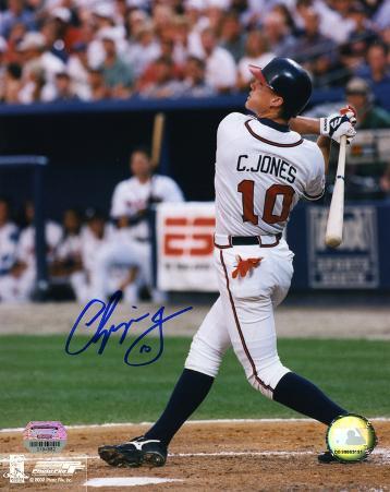 Chipper Jones Atlanta Braves