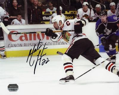 Martin Lapointe Chicago Blackhawks with ''22'' Inscription