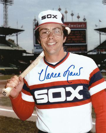 Vance Law Chicago White Sox Autographed Photo (Hand Signed Collectable)