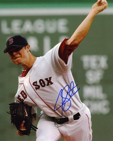 Jon Lester Boston Red Sox Autographed Photo (Hand Signed Collectable)