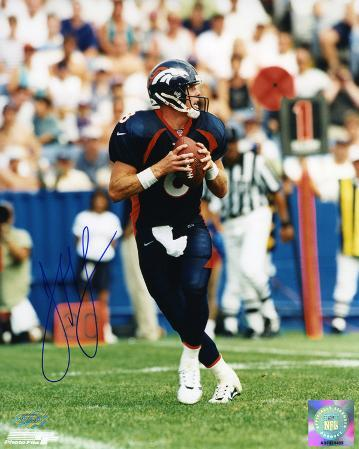 Jeff Lewis Denver Broncos Autographed Photo (Hand Signed Collectable)