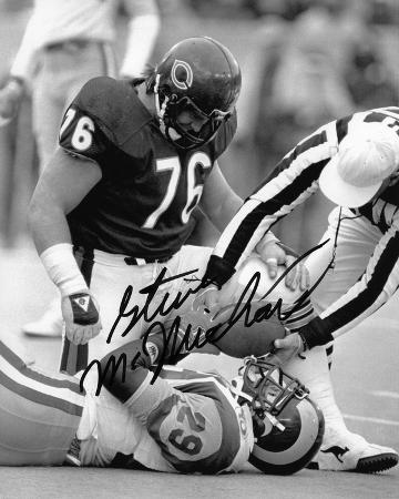 Steve McMichael Chicago Bears Autographed Photo (Hand Signed Collectable)