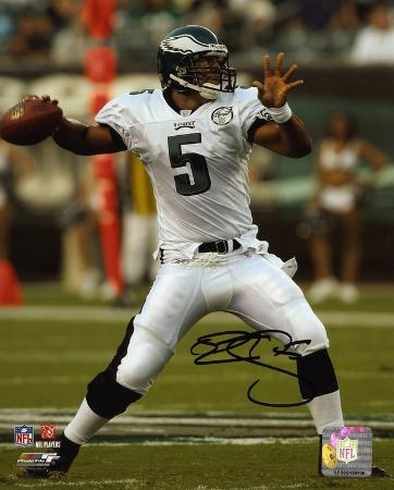 Donovan McNabb Philadelphia Eagles Autographed Photo (Hand Signed Collectable)