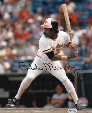 Eddie Murray Baltimore Orioles Autographed Photo (Hand Signed Collectable)