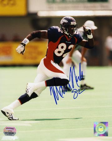 Marcus Nash Denver Broncos Autographed Photo (Hand Signed Collectable)