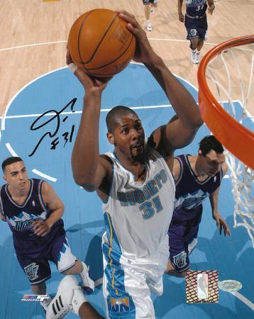 Nene Hilario Denver Nuggets Autographed Photo (Hand Signed Collectable)