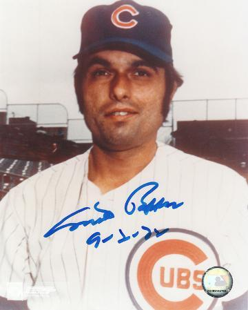 "Milt Pappas Chicago Cubs with ""9-2-72"" Inscription Autographed Photo (Hand Signed Collectable)"