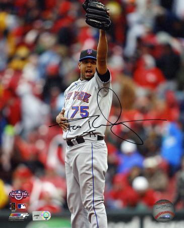 Francisco Rodriguez New York Mets. Autographed Photo (Hand Signed Collectable)
