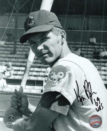 Ken Rudolph Chicago Cubs with 69 Cubs Inscription Autographed Photo (Hand Signed Collectable)