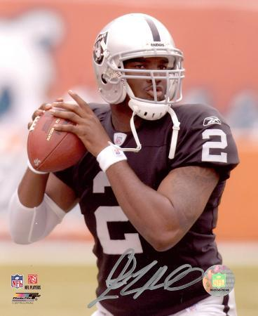 JaMarcus Russell Oakland Raiders Autographed Photo (Hand Signed Collectable)