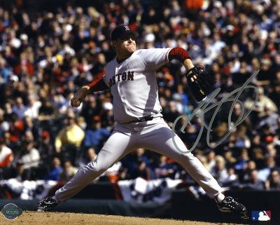 Curt Schilling Boston Red Sox Autographed Photo (Hand Signed Collectable)