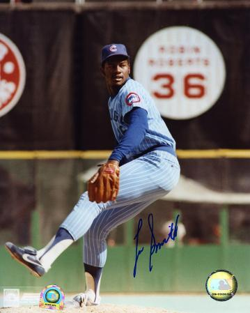 Lee Smith Chicago Cubs Autographed Photo (Hand Signed Collectable)