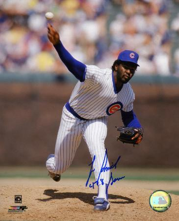 """Lee Smith Chicago Cubs with """"478 Saves"""" Inscription Autographed Photo (Hand Signed Collectable)"""