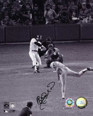 Elias Sosa Dodgers Reggie's 1977 WS Game 6 Homerun Autographed Photo (Hand Signed Collectable)