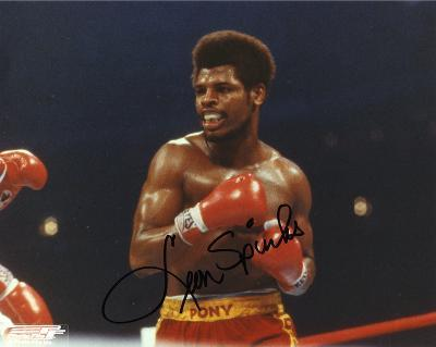 Leon Spinks (Boxing) Autographed Photo (Hand Signed Collectable)