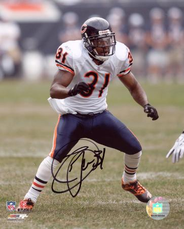 Nathan Vasher Chicago Bears Autographed Photo (Hand Signed Collectable)