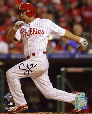 Shane Victorino Philadelphia Phillies 2008 WS Champions Autographed Photo (Hand Signed Collectable)