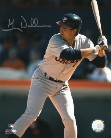 Greg Walker Chicago White Sox Autographed Photo (Hand Signed Collectable)