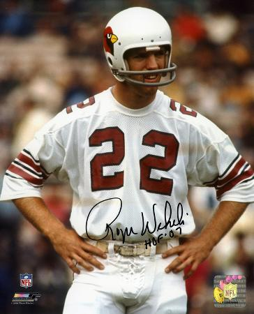 Roger WeHome Runli Arizona Cardinals with HOF 07  Autographed Photo (Hand Signed Collectable)