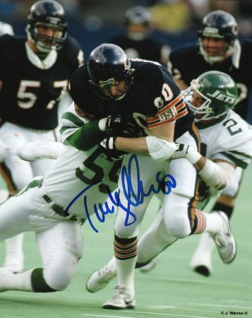 Tim Wrightman Chicago Bears Autographed Photo (Hand Signed Collectable)