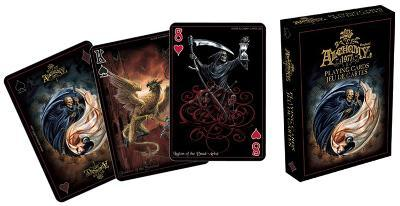 Alchemy Black Art Playing Cards