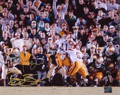 Reggie Bush & Matt Leinart USC Trojans - The Push - Dual Autographed Photo (H& Signed Collectable)