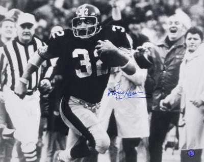 Franco Harris PittsburgSteelers - Immaculate Reception Autographed Photo (Hand Signed Collectable)