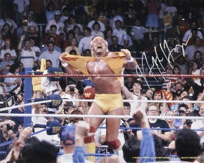 Hulk Hogan - WWE - Hulkamania Autographed Photo (Hand Signed Collectable)