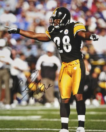 Chris Hope PittsburgSteelers Autographed Photo (Hand Signed Collectable)
