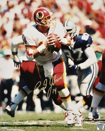 Brad Johnson Washington Redskins Autographed Photo (Hand Signed Collectable)