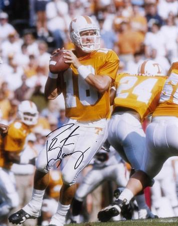 Peyton Manning Tennessee Volunteers Autographed Photo (Hand Signed Collectable)