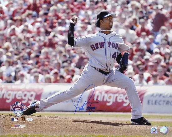 'Pedro Martinez New York Mets Autographed Photo (Hand