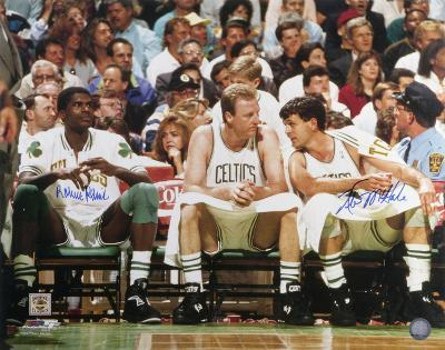 Kevin McHale and Robert Parish Boston Celtics Autographed Photo (Hand Signed Collectable)