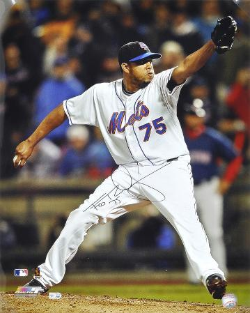 Francisco Rodriguez New York Mets Autographed Photo (Hand Signed Collectable)