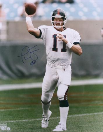Phil Simms New York Giants Autographed Photo (Hand Signed Collectable)