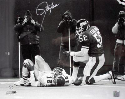 Lawrence Taylor Signed - New York Giants Autographed Photo (Hand Signed Collectable)