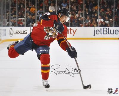 Scottie Upshall Florida Panthers Autographed Photo (Hand Signed Collectable)