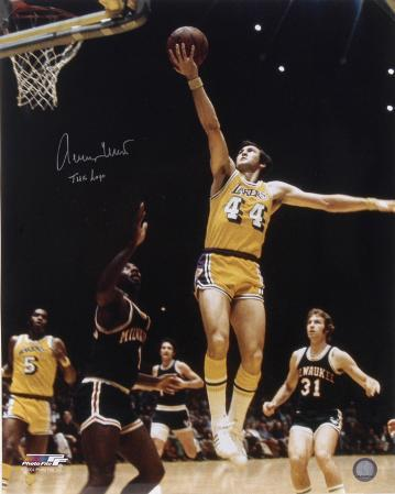 Jerry West Los Angeles Lakers Autographed Photo (Hand Signed Collectable)