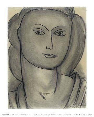 Madame L.B. (Lucienne Bernard), c.1946