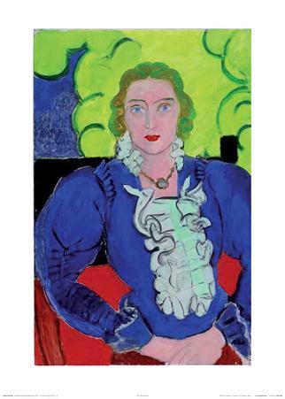 Madame L.D., Die blaue Bluse, c.1936