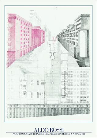 Project for Perugia, 1983