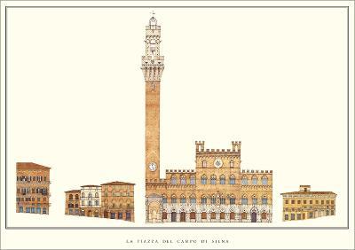 La Piazza del Campo, Siena