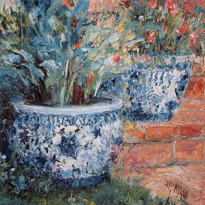 Porcelain Pots 8922
