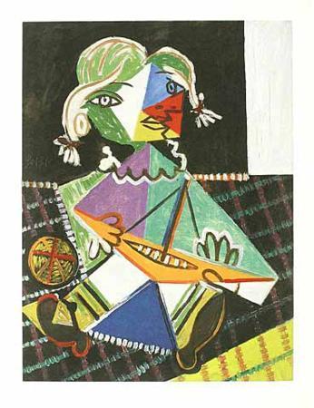 Kleines Mädchen mit Boot, c.1938