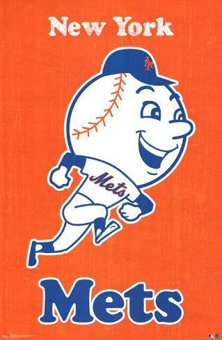 graphic regarding Mets Printable Schedule called Refreshing York Mets Retro Emblem