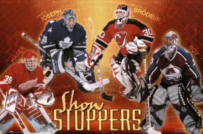 NHL Goalies Show Stoppers Hasek Joseph Brodeur Roy