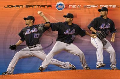 New York Mets Johan Santana