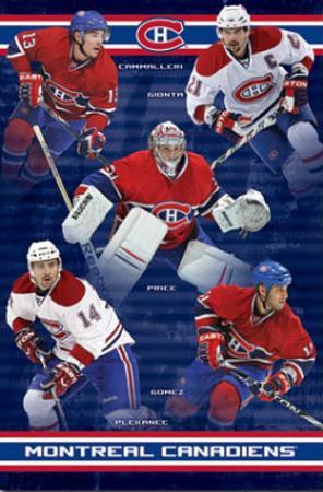 Montreal Canadiens Cammalleri Gionta Price Gomez Plekanec